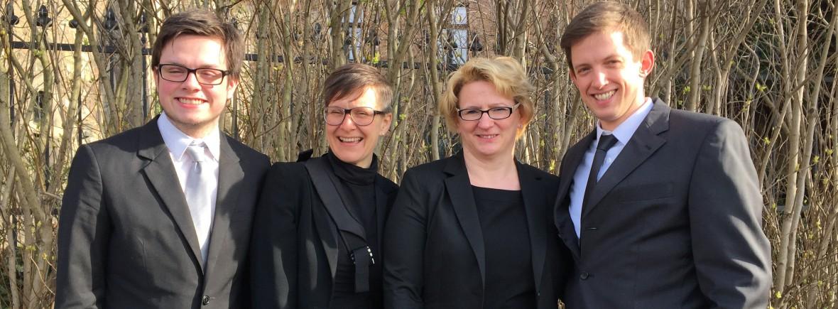 Nikolas, Sabine, Susanne, Sven